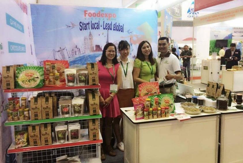 Ritachi Coffee tham gia HỘI CHỢ FOODEXPO 2016