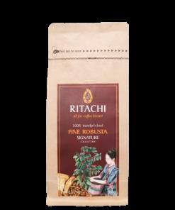 Cà phê lên men TRÁI CHÍN FINE ROBUSTA - Ritachi Coffee